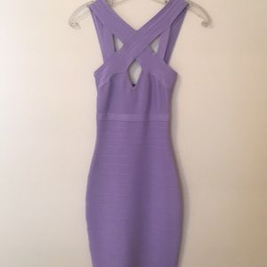 Guess Marciano Violet Bandage Dress💜